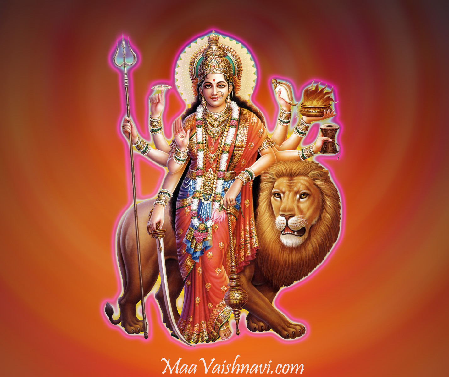Durga-warrior-Divine-Mother-Brahman