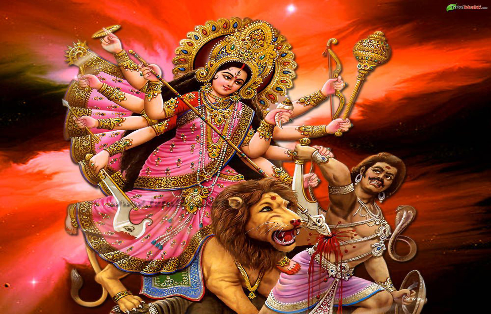 Maa-Durga-kills-demon