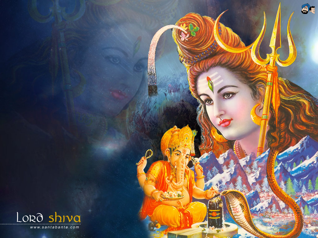 shiva-and-ganpati-bappa-morya